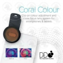 D-D Coral Colour Clip On Linsen